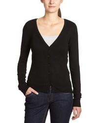 schwarzer Pullover mit einer Kapuze von Vero Moda