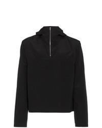 schwarzer Pullover mit einer weiten Rollkragen von Mackintosh 0002