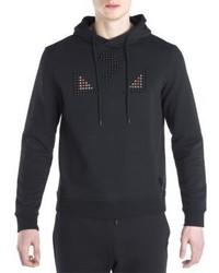 Schwarzer Pullover Mit Kapuze von Fendi