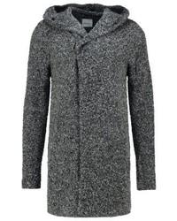 schwarzer Pullover mit einem Kapuze von Shine Original
