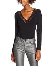 schwarzer Pullover von Boohoo