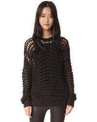 schwarzer Pullover von IRO