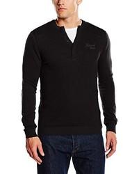 schwarzer Pullover von Kaporal