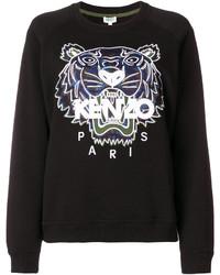 schwarzer Pullover von Kenzo