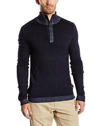 schwarzer Pullover von Strellson Premium