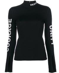 schwarzer Pullover von Versace