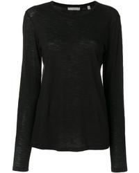 schwarzer Pullover von Vince