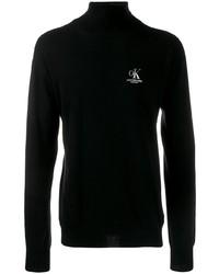 schwarzer Rollkragenpullover von Calvin Klein Jeans Est. 1978