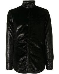 schwarzer Rollkragenpullover von Emporio Armani