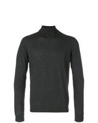 schwarzer Rollkragenpullover von Fashion Clinic Timeless