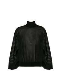 schwarzer Rollkragenpullover von Givenchy
