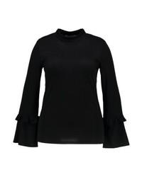 schwarzer Rollkragenpullover von Glamorous Curve