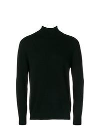 schwarzer Rollkragenpullover von N.Peal