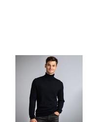 schwarzer Rollkragenpullover von NEW IN TOWN