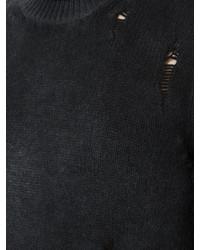 schwarzer Rollkragenpullover von Avant Toi