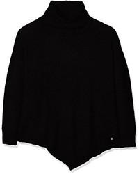 schwarzer Rollkragenpullover von Tom Tailor