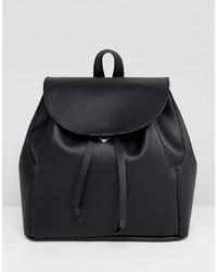 schwarzer Rucksack von ASOS DESIGN
