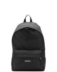 schwarzer Rucksack von Balenciaga