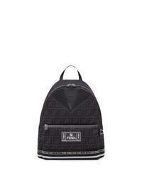 schwarzer Rucksack von Fendi