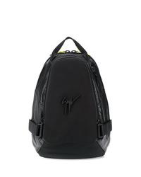 schwarzer Rucksack von Giuseppe Zanotti