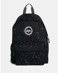 schwarzer Rucksack von Hype