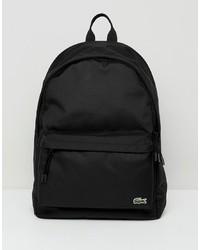schwarzer Rucksack von Lacoste