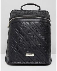 schwarzer Rucksack von Love Moschino