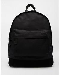 schwarzer Rucksack von Mi-pac
