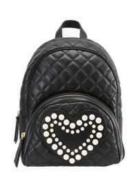 schwarzer Rucksack von Moschino