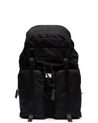 schwarzer Rucksack von Prada