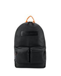 schwarzer Rucksack von Santoni