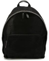 schwarzer Rucksack von Stella McCartney