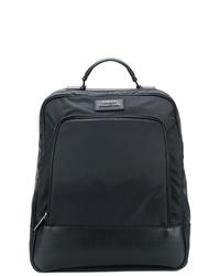 schwarzer Rucksack von Versace Collection