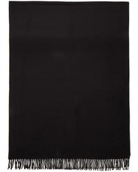 schwarzer Schal von A.P.C.