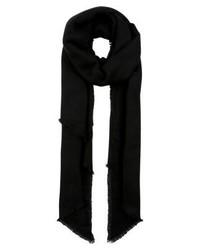 schwarzer Schal von Anna Field