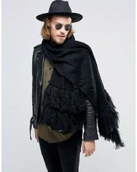 schwarzer Schal von Asos