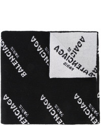 schwarzer Schal von Balenciaga