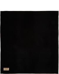 schwarzer Schal von Burberry