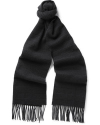 schwarzer Schal von Canali