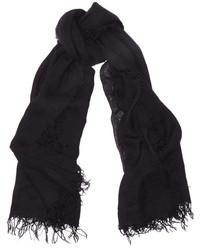 schwarzer Schal von Chan Luu