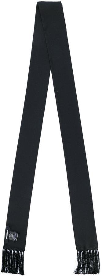 schwarzer Schal von DSQUARED2