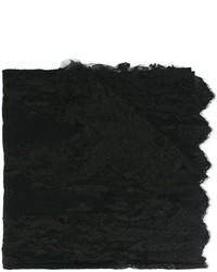 schwarzer Schal von Ermanno Scervino