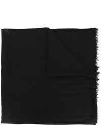 schwarzer Schal von Faliero Sarti
