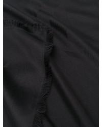 schwarzer Schal von Saint Laurent