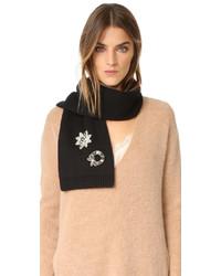 schwarzer Schal von Marc Jacobs