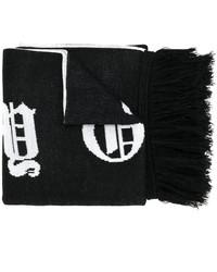 schwarzer Schal von Marcelo Burlon County of Milan