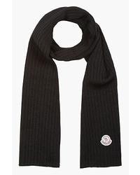 schwarzer Schal von Moncler
