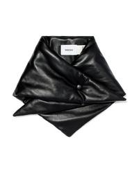 schwarzer Schal von Nanushka