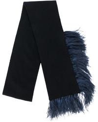 schwarzer Schal von No.21