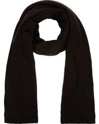 schwarzer Schal von Rick Owens